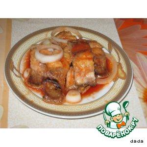 Рецепт Сельдь в томатном соусе