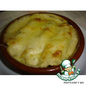Рецепт Канелонес по-каталански со шпинатом