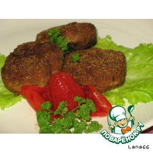 Блюдо мясное приготовленное в духовке