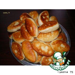 Рецепт: Жареные пирожки с картошкой