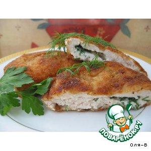 Рецепт Отбивная из куриной грудки