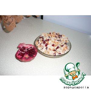 Рецепт Куриный салат с гранатом