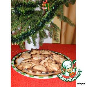 Готовим Имбирное печенье домашний рецепт с фото