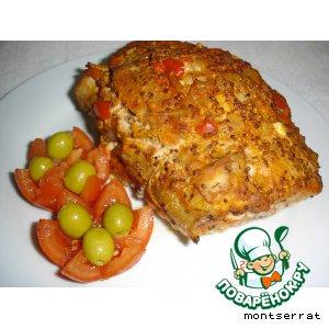 Рецепт Свинина, запеченная в горчице