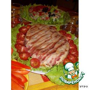 Рецепт Слоеная свинина
