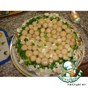 """Рецепт Салат """"Грибная поляна"""""""