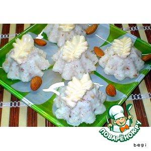 Рецепт Сливочное суфле - мороженое