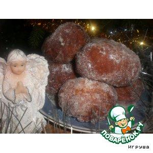Рецепт: Рождественские пончики