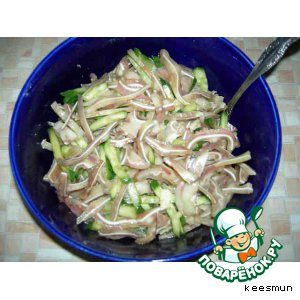 Рецепт Ушки свиные по-китайски