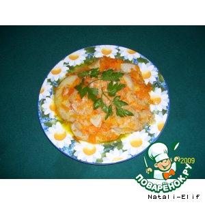 Рецепт Постная закуска из сельдерея