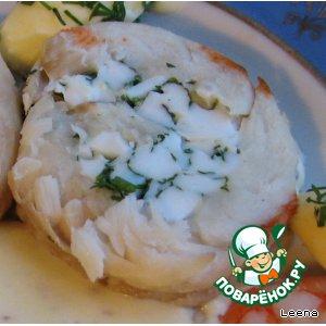 """Рецепт Завиванец из рыбы с пряным соусом """"Метелица"""""""