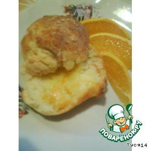 Рецепт Булочки за полчаса с апельсиновым маслом