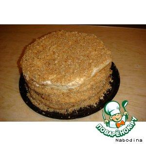 Сметанный торт кулинарный рецепт