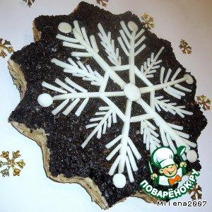 Рецепт Закусочный торт «Снежинка»