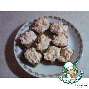 Рецепт Бутербродики с чесночком