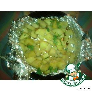 Рецепт Картошка, запеченная в фольге