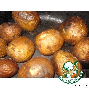 запечь картошку в духовке в кожуре