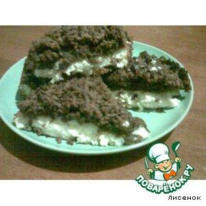 Рецепт Двухслойное пирожное