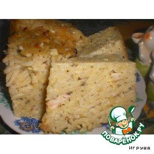 Рецепт Бабка макаронная по-украински