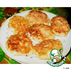 Рецепт Нежные сырно-куриные котлетки