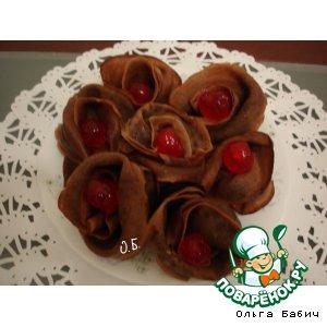 Как приготовить Шоколадные блинчики рецепт приготовления с фотографиями пошагово
