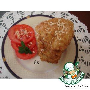 Рецепт Куриное филе в ореховой панировке
