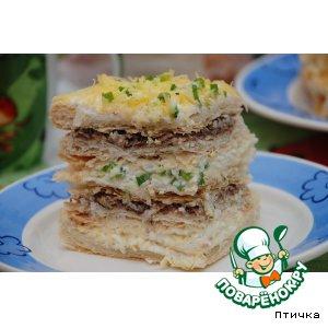 Рецепт Закусочный тортик