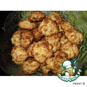 Готовим Печенье овсяное пошаговый рецепт с фотографиями