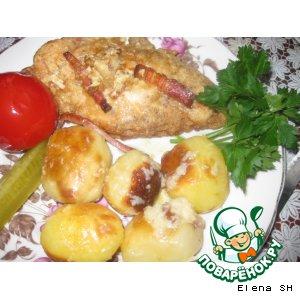 Рецепт Куриное филе с начинкой