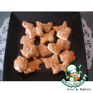 Рецепт Греческие печенюшки с фетой