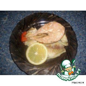 Рецепт Форель и тилапия, запеченные в рукаве