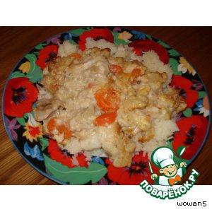 Рецепт Куриная запеканка с овощами