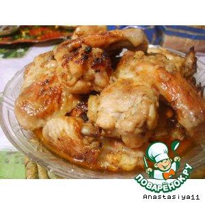 Рецепт Крылышки в сладком чили-маринаде