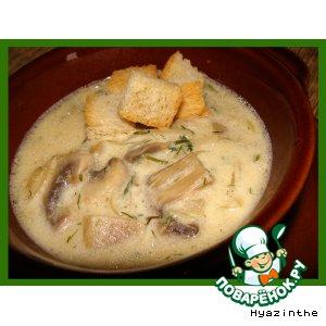 Бархатный грибной суп 46026