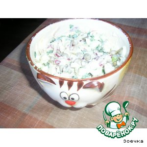 Рецепт Ну, очень простой салатик