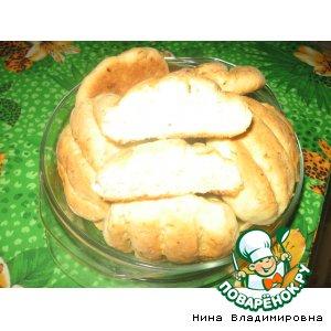"Рецепт Хлеб ""Булочки луковые"""