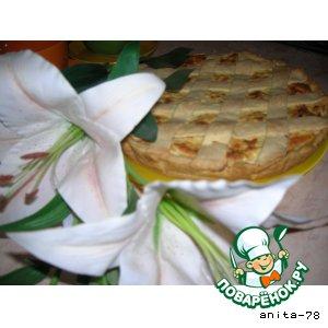 Рецепт Куриный пирог-суфле с решеткой