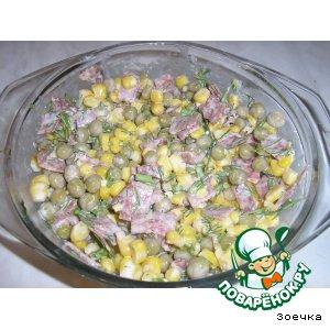 Рецепт Салат за 5 минут