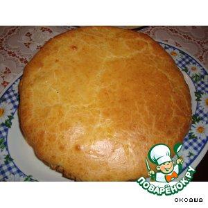 Рецепт Французский луково-сырный пирог