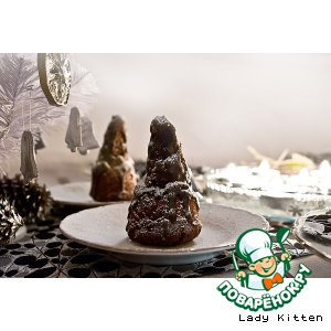 Рецепт Зимние шоколадные елочки