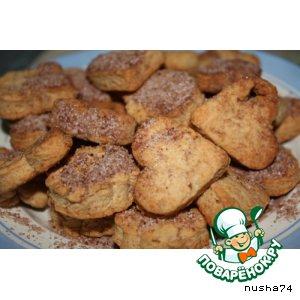 Рецепт Печенье с карамелью