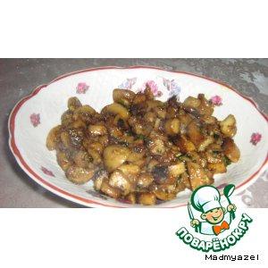 Рецепт Грибы закусочные по-восточному