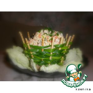 Рецепт Корзинка для салатов