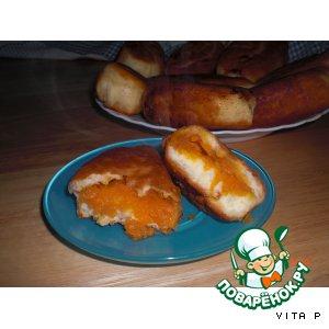 Рецепт Сладкие пирожки с тыквой