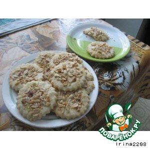 Рецепт Печенье с арахисом