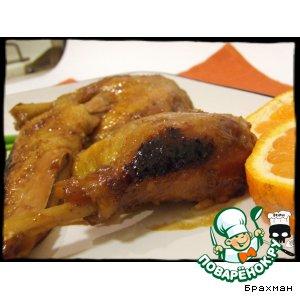 Рецепт Кисло-сладкая утка на восточный манер