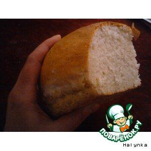 Рецепт Хлеб белый, постный