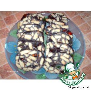 Рецепт Шоколадная колбаска