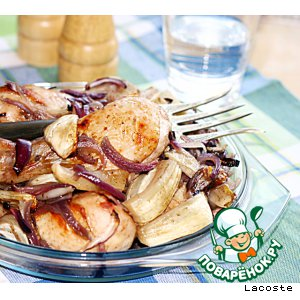 Рецепт Курица с фенхелем