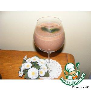 Рецепт Шоколадно-банановый напиток